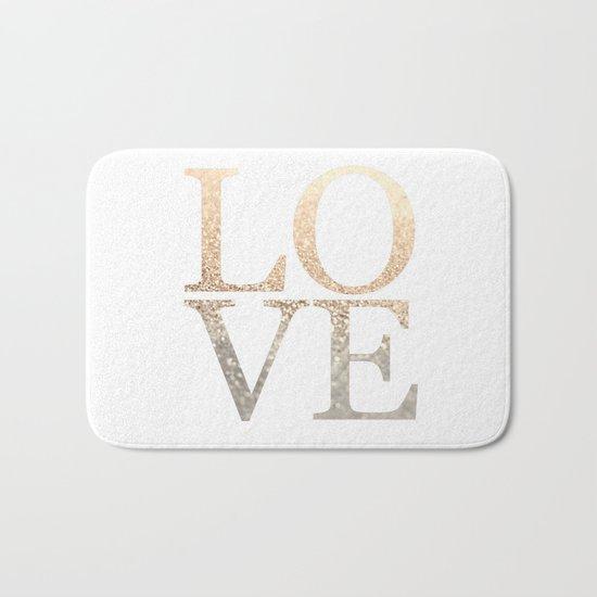 GOLD LOVE Bath Mat
