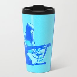 Blue Songbird Joni Mitchell Travel Mug