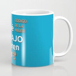 ¿Qué carajo quieren ellas? Coffee Mug