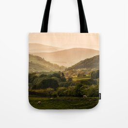 Sunny afternoon in Lake District Tote Bag