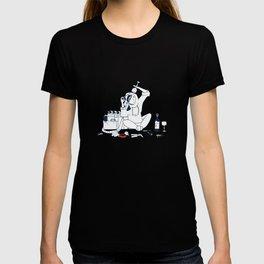 Assistant camera in quarantine T-shirt