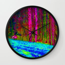 Physco Duck Wall Clock