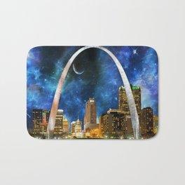 Spacey St. Louis Skyline Bath Mat