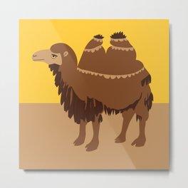 Two humps Camel Metal Print