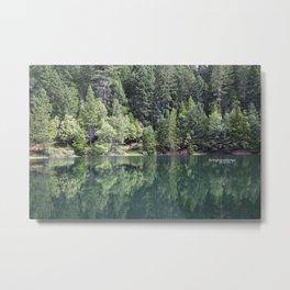 Paradise Lake Metal Print