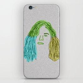 neon borns iPhone Skin