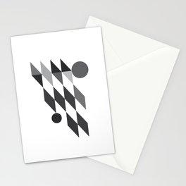 Geometric Jacks Stationery Cards