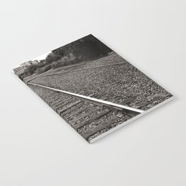 Railroad Tracks Notebook