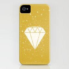 Space Diamond (gold) iPhone (4, 4s) Slim Case