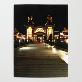 Seebrücke Sellin - Pier Sellin Poster