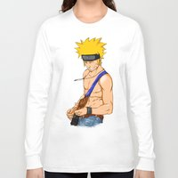 naruto Long Sleeve T-shirts featuring naruto by immiggyboi90