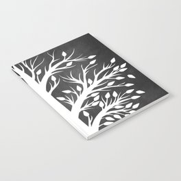 Family Tree Black and White Notebook