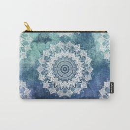BOHOCHIC MANDALAS IN BLUE Carry-All Pouch