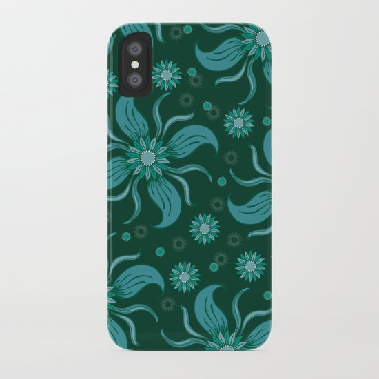 Floral Obscura iPhone Case