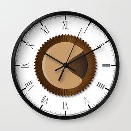 Chocolate Box Moon Shape Wall Clock