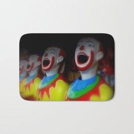 Laughing Clowns Bath Mat