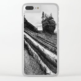 Layers of Fundy Clear iPhone Case