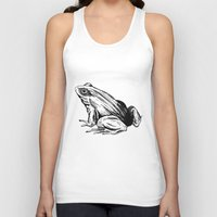 frog Tank Tops featuring Frog by Aubree Eisenwinter