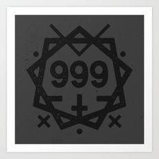 999 Art Print