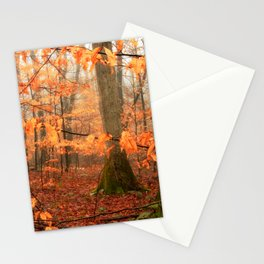 Mystic Autumn Forest Stationery Cards