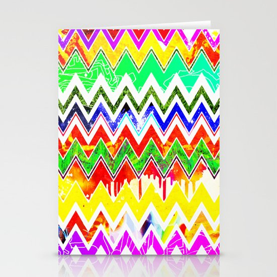 Waves of Colour Stationery Cards