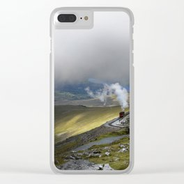 Snowdonia Mountain Railway Clear iPhone Case