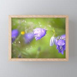 Bluebells Meadow #decor #society6 Framed Mini Art Print