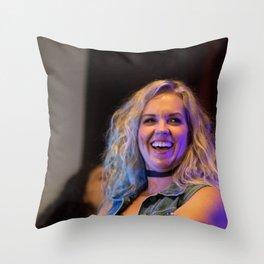 Briana Buckmaster at the Supernat-A-Looza Throw Pillow
