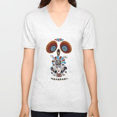 Mexican Owl Unisex V-Neck