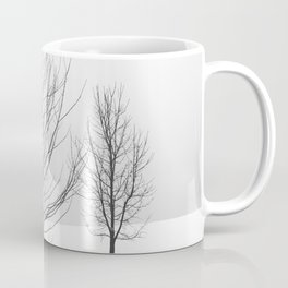 Scandinavian Winter Trees Coffee Mug