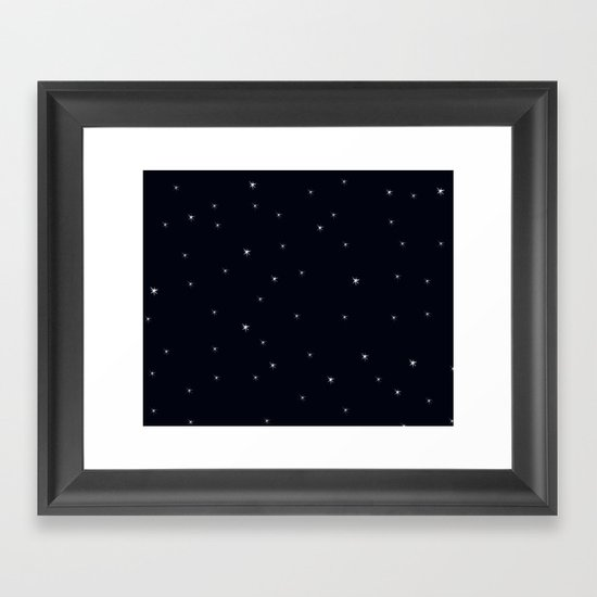 Midnight II Framed Art Print