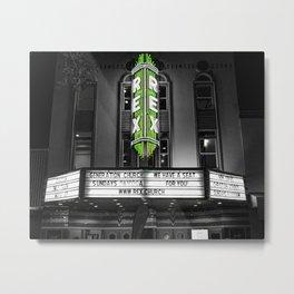 The Rex theater Metal Print