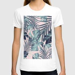 Tropical Jungle Leaves Pattern #8 #tropical #decor #art #society6 T-shirt