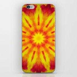 Mandala Fire iPhone Skin