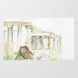 Caryatids (painting) Rug
