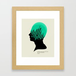 The Mind. Framed Art Print