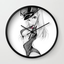 Graf Zeppelin II Wall Clock