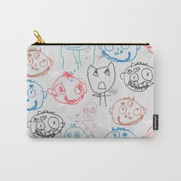 Monster Doodles Carry-All Pouch