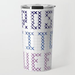 Cross Stitch Queen Travel Mug