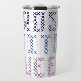 Cross Stitch Queen Travel Mug