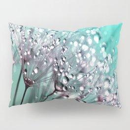 Dandelion Blue Diamonds Pillow Sham