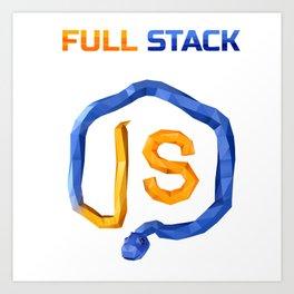 CheckiO Full Stack Art Print