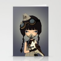 pilot Stationery Cards featuring pilot by Anne  Martwijit