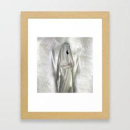 "say no to patriarchy / ""the nun"" Framed Art Print"