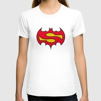 comic T-shirts featuring Superbatman comic by victimArte