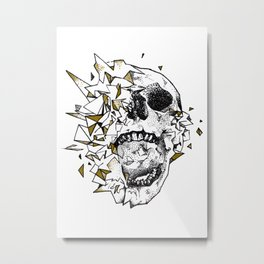 Poly Shatter Metal Print