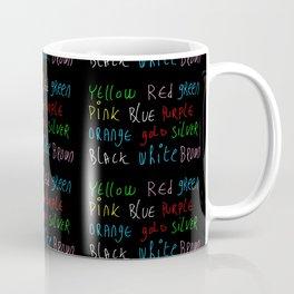 Funny Colors – Chromatic,light,Luz,cast,tone,nuance,tints Coffee Mug