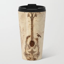 The Guitar's Song Travel Mug