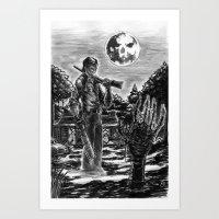 evil dead Art Prints featuring Evil Dead by Marc Vuletich