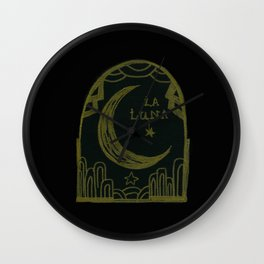 la luna Wall Clock